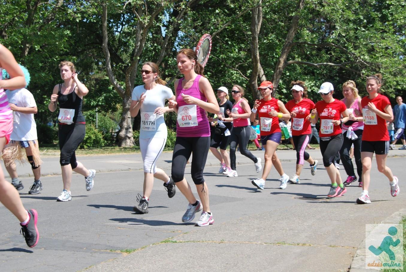 női futógála