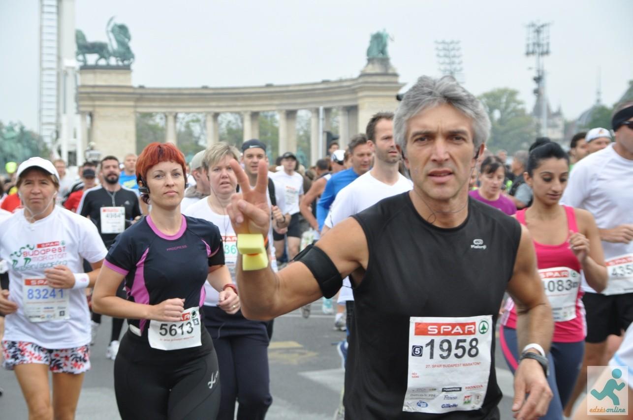 Budapest Maraton rajt